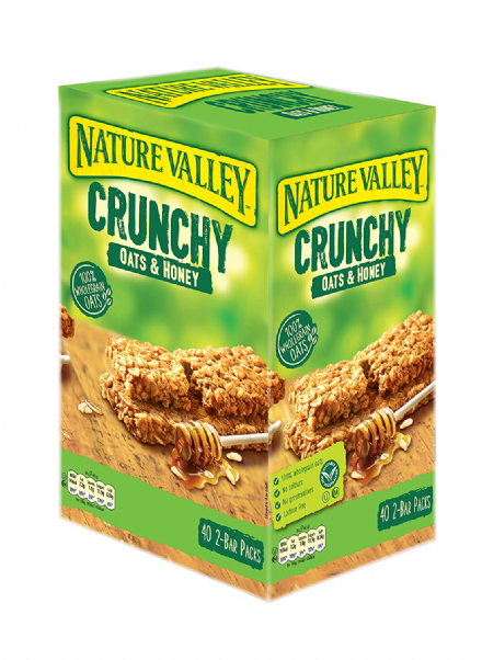 Nature Valley Crunchy Oats & Honey Cereal Bars 40 2-Bar Packs